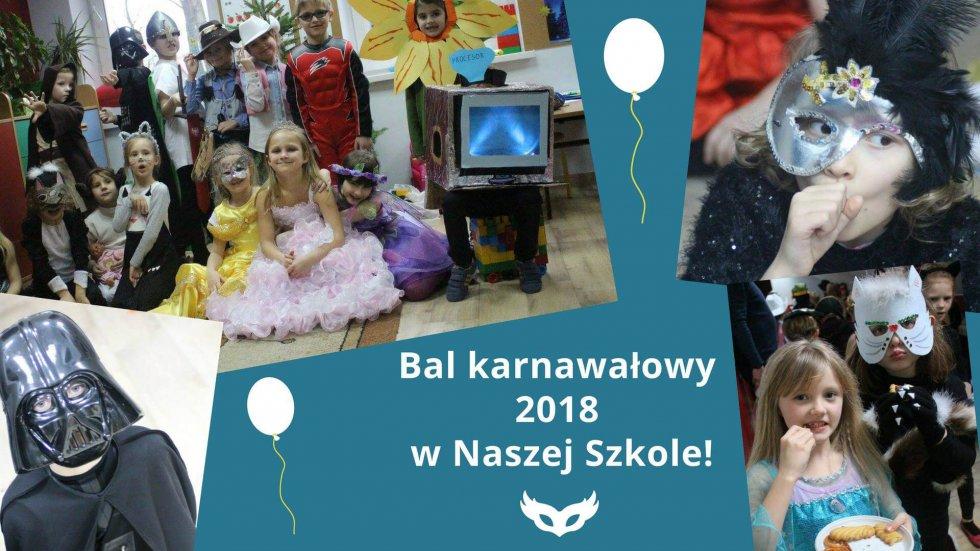 Bal karnawałowy 2018 w Naszej Szkole!