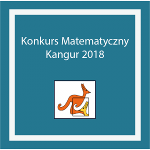 Wyniki Konkursu Matematycznego Kangur 2018
