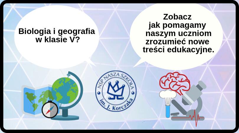 Biologia i geografia w klasie V