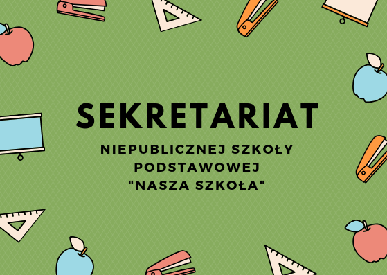 Sekretariat – informacje
