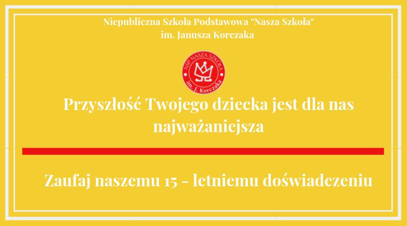 Rok szkolny 2019/2020