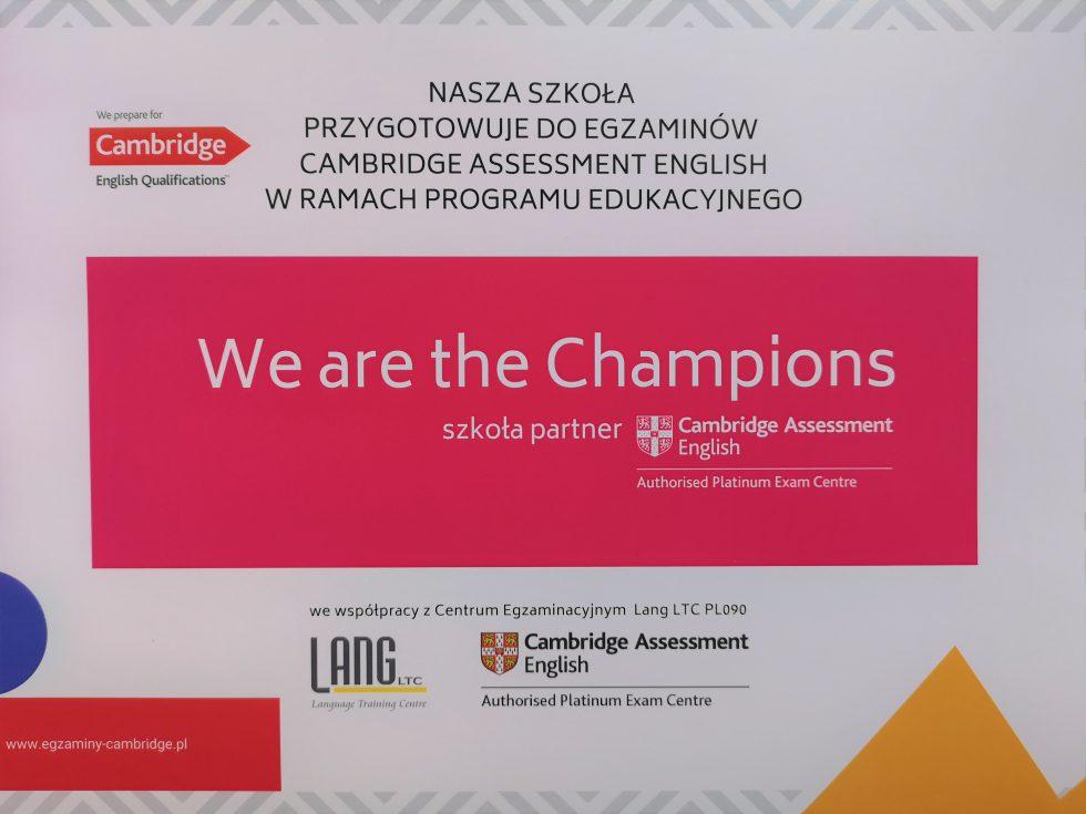 Niepubliczna Szkoła Podstawowa przygotowuje do Egzaminów Cambridge