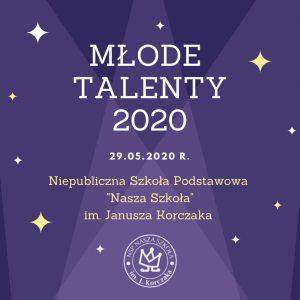 IV edycja konkursu MŁODE TALENTY 2020