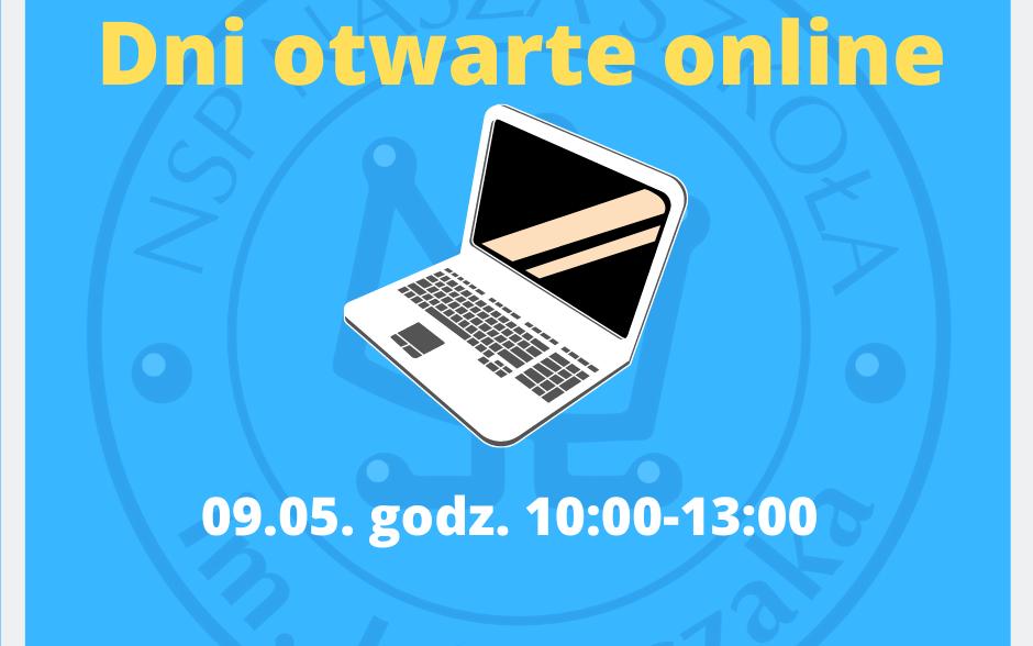 Dzień otwarty online 9.05. godz. 10:00-13:00