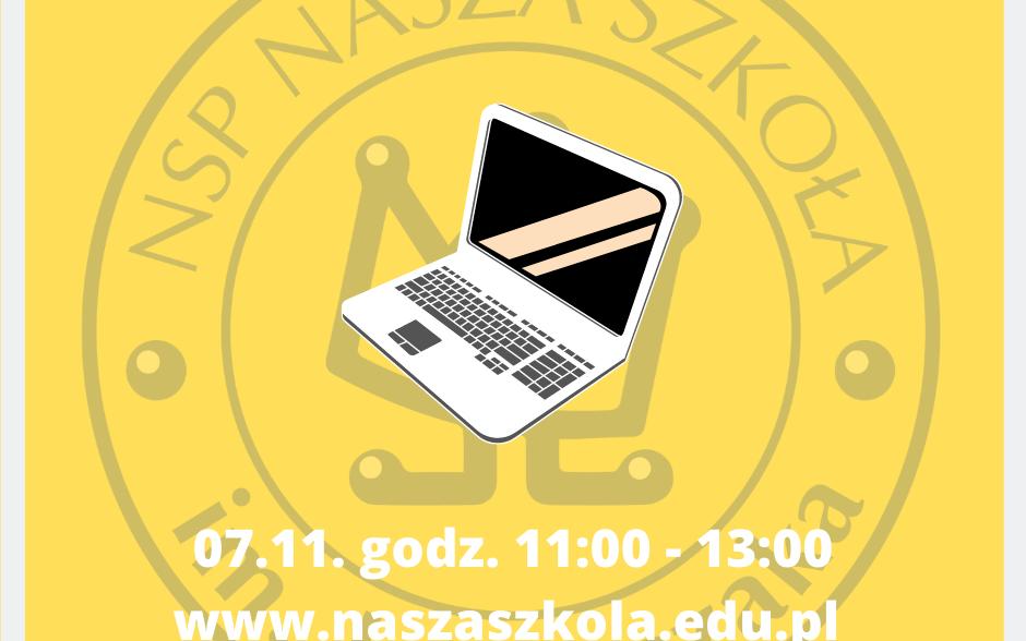 Dni otwarte online 07.11.2020 r. godz. 11:00