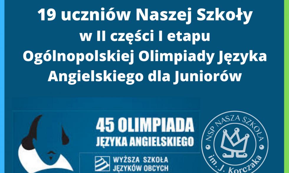Olimpiada Języka Angielskiego dla Juniorów