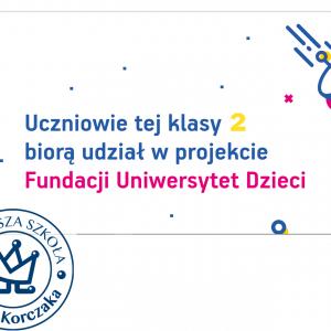 Projekt edukacyjny z Uniwersytetem Dzieci