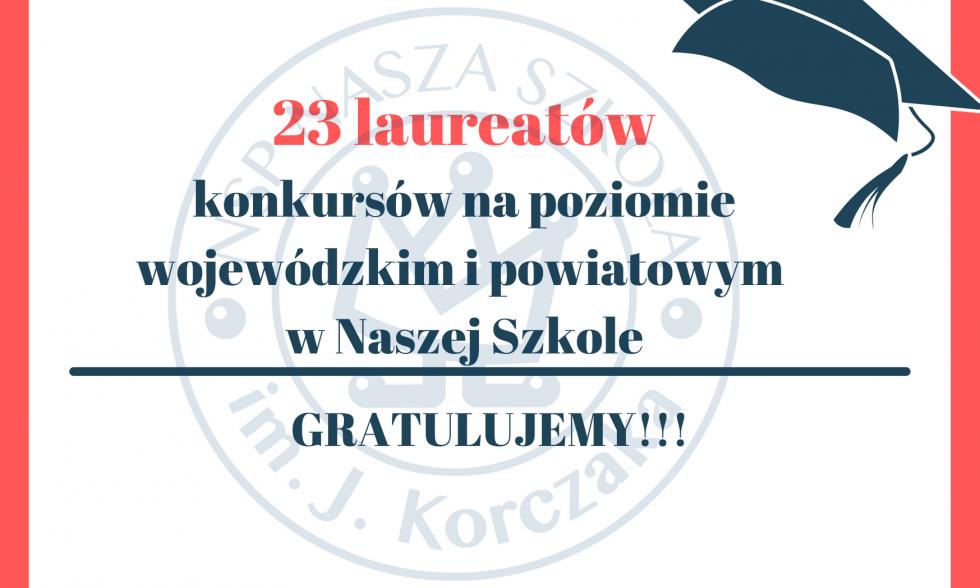 Laureaci konkursów 2020/2021